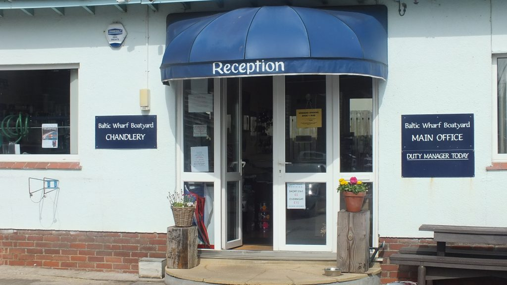 Reception and Chandlery